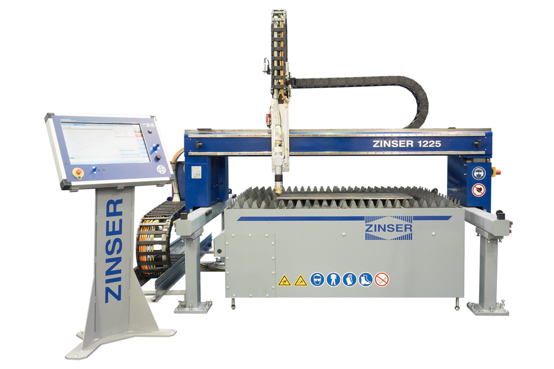 ZINSER 1225, compact cutting portal machine