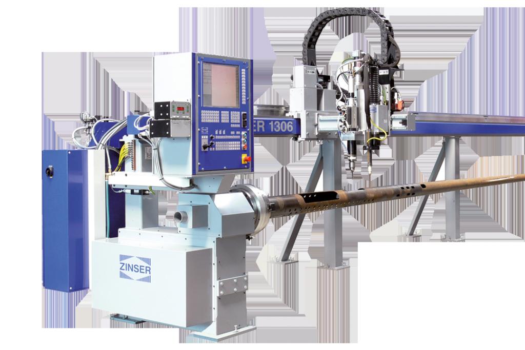 Machine de découpe des tubes ZINSER 1306