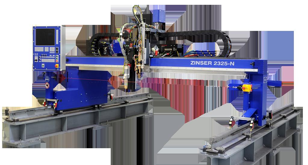 ZINSER 2325, machine de découpe CNC