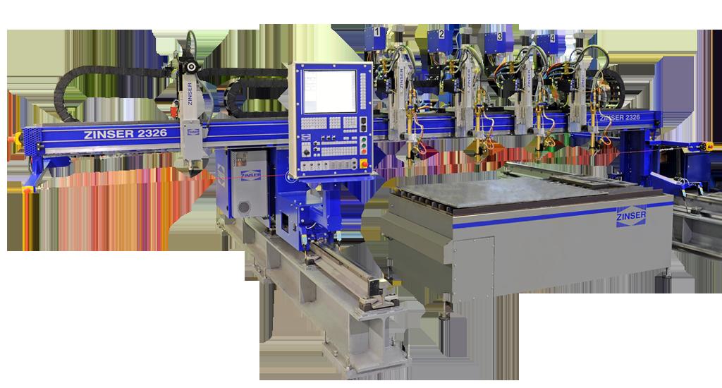 ZINSER 2326, machine de découpe CNC