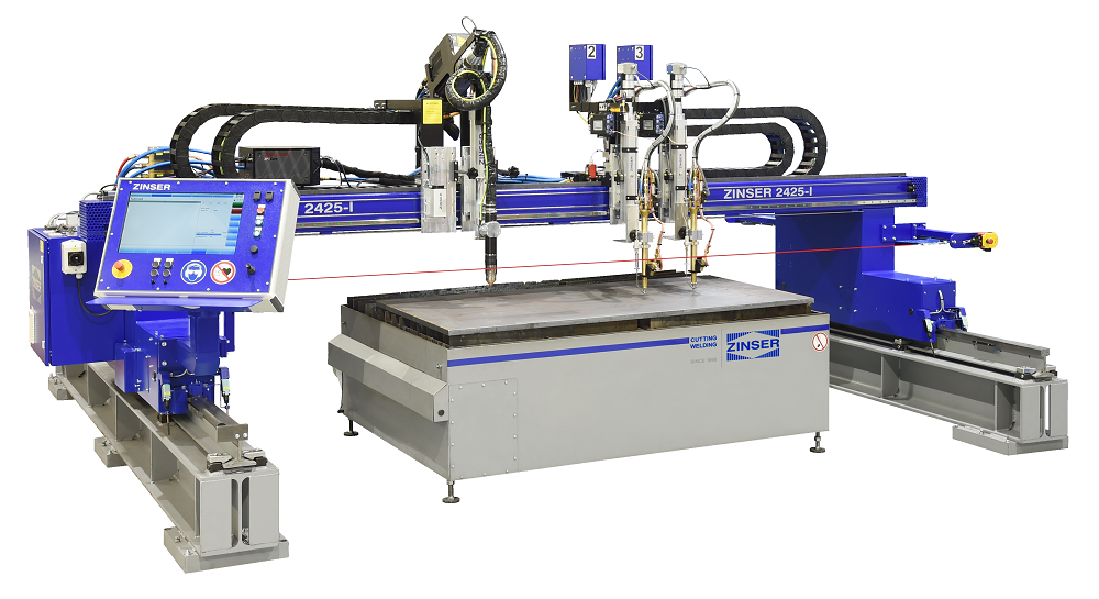 ZINSER 2425-I, economic CNC cutting machines