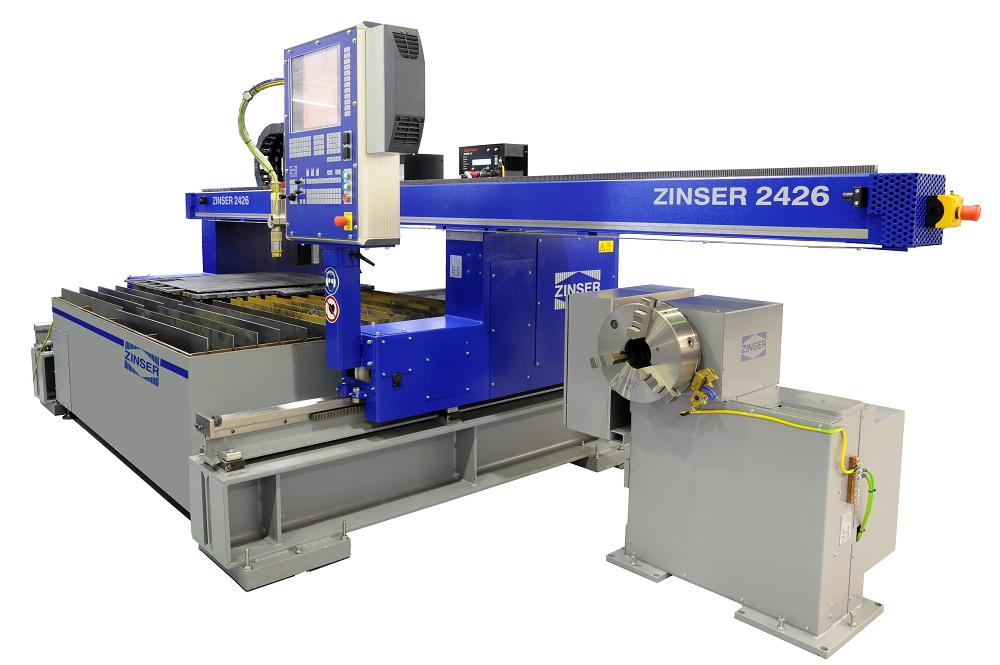 ZINSER 2426, machines de découpe économiques