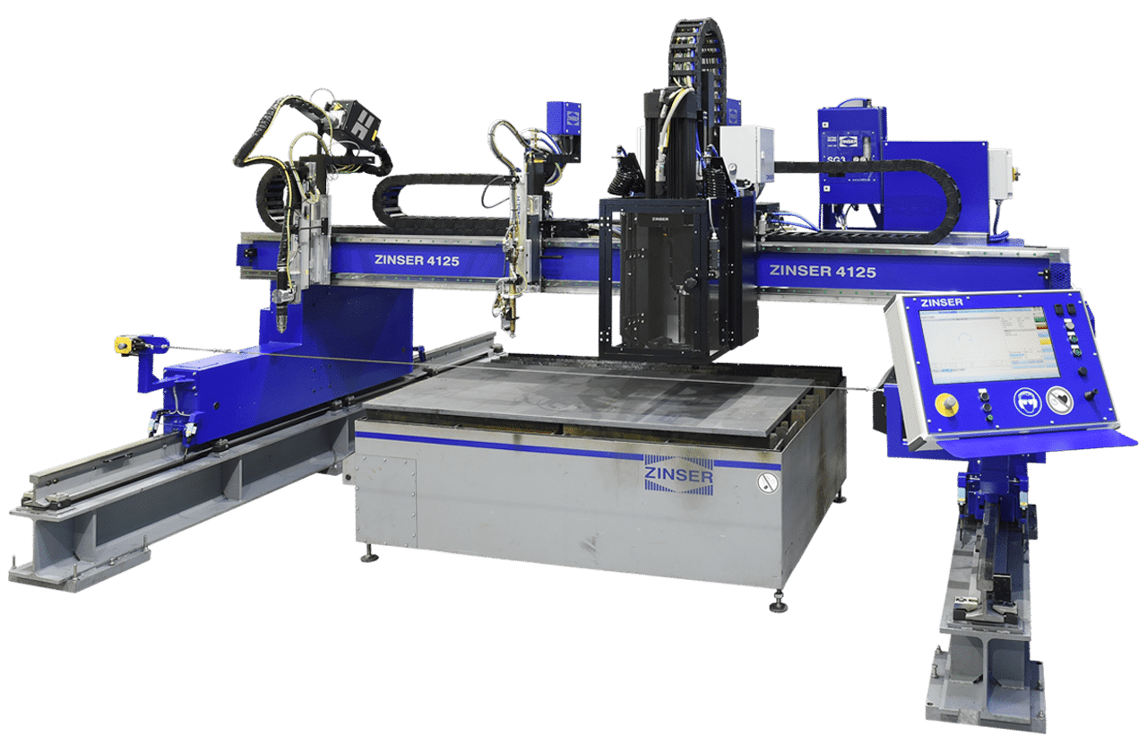 ZINSER 4125 CNC cutting machine