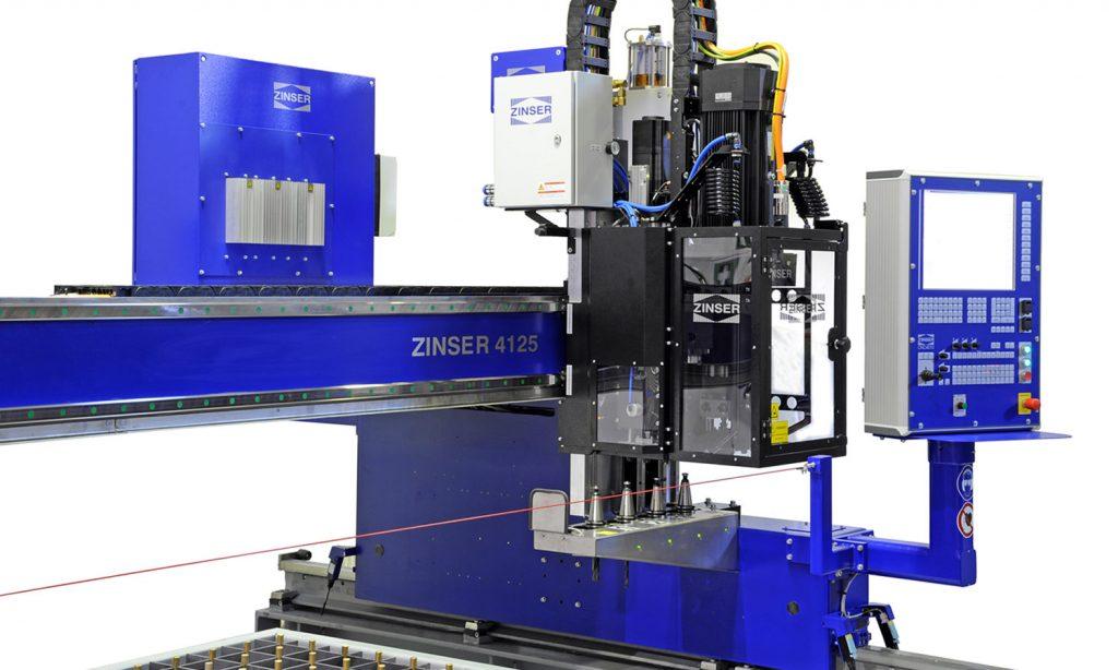Cutting technologies: CNC drill unit