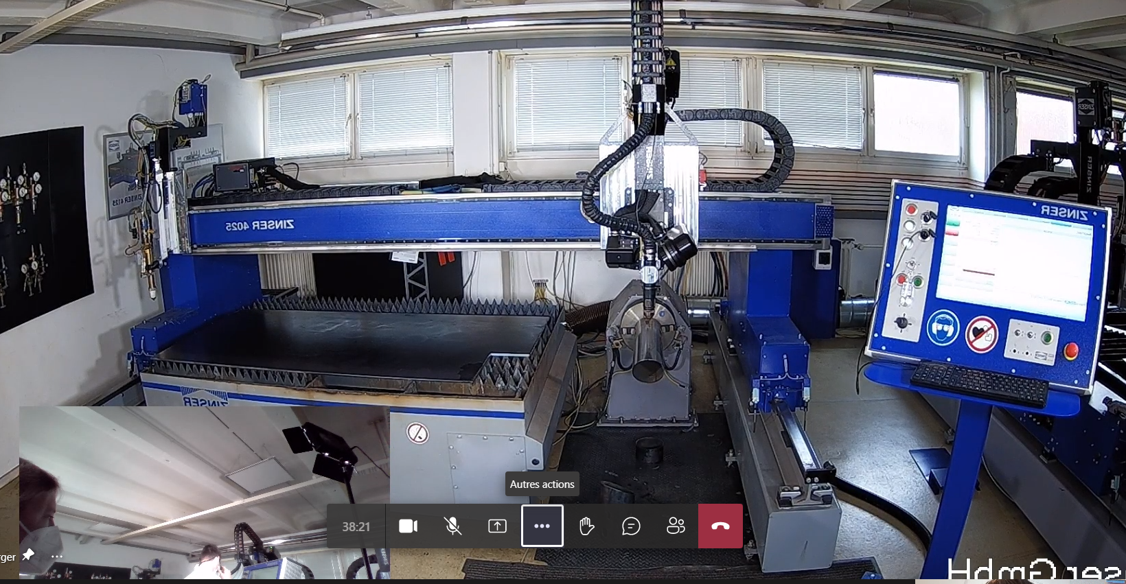 Online Demonstration CNC Schneidmaschine