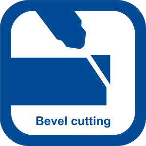 Cutting technology: bevel cutting