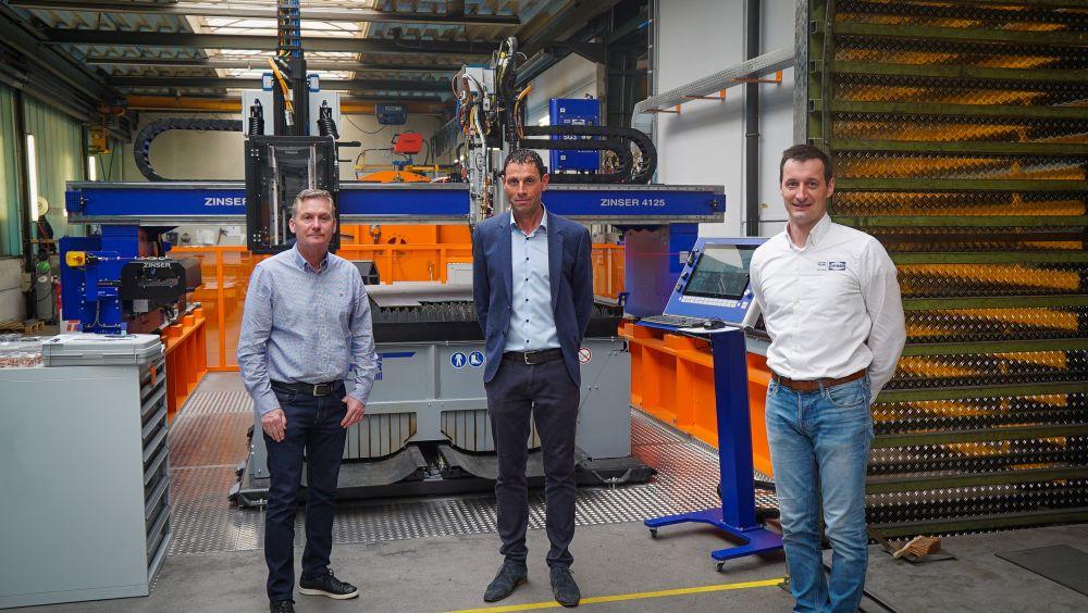 ZINSER cutting machine for Assmann special vehicles