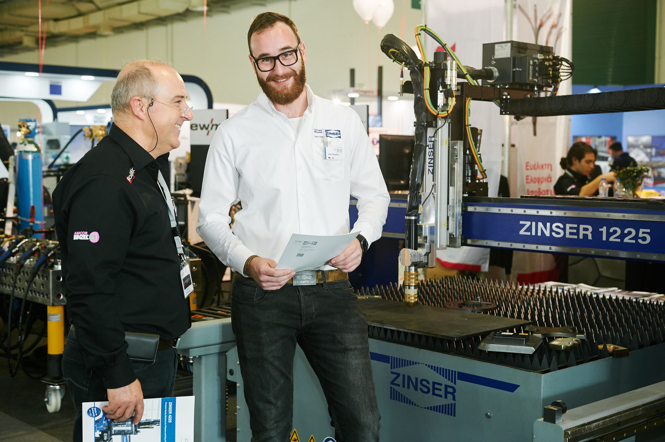 [:de] ZINSER auf der Metal Machinery in Griechenland 2018 [:en] ZINSER at the Metal Machinery in Greece 2018
