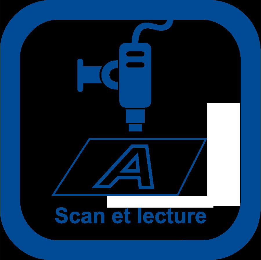 Découpe du métal : scan et lecture