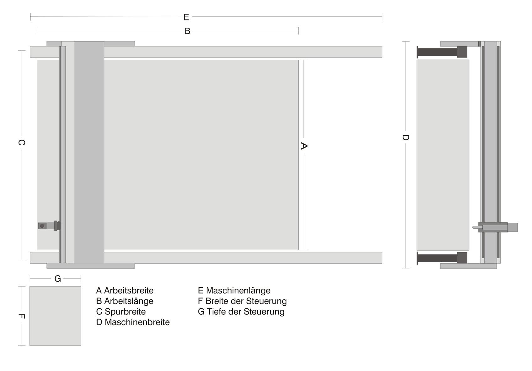 Plan 1825-S machine de découpe laser