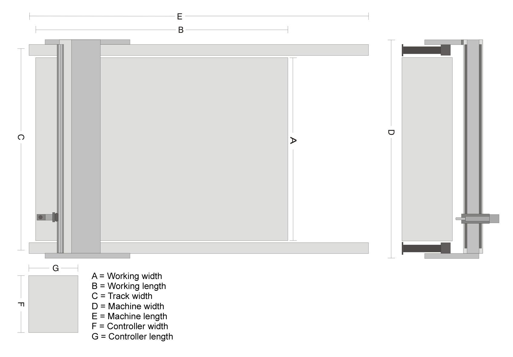 Floor plan ZINSER 1825 Fiber Laser English