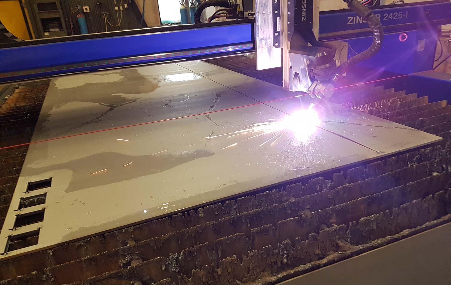 Pallesen Sveis investiert in neue ZINSER Plasmaschneid für Fasenschnitte