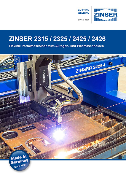 Economic CNC cutting machines : brochure