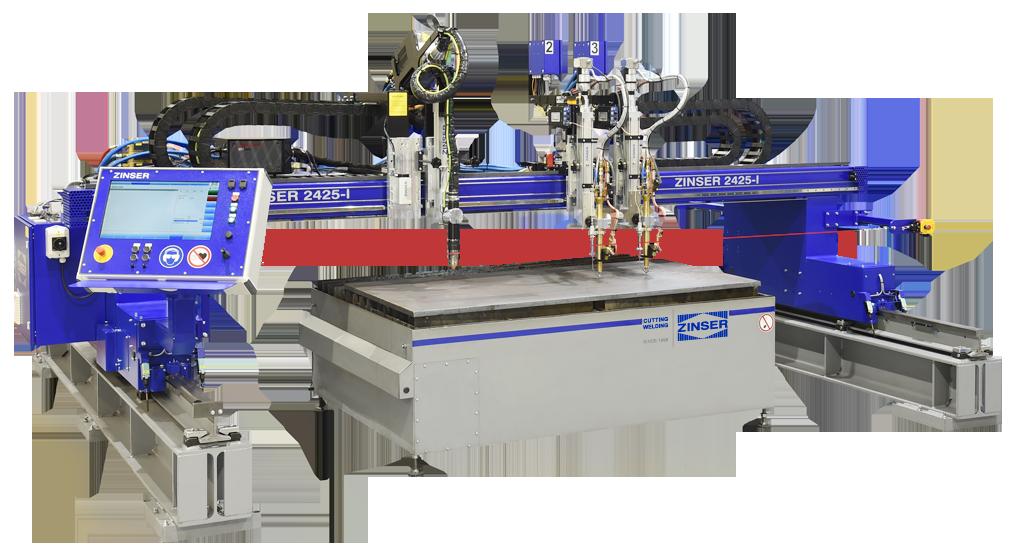 ZINSER 2425, machine de découpe CNC
