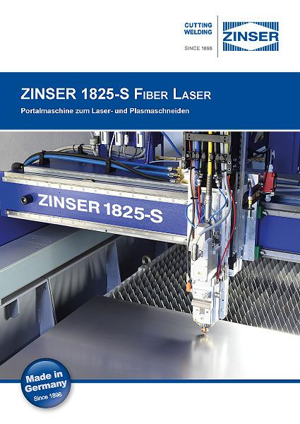 Brochure ZINSER 1825 Fiber Laser German